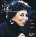 藝人名: E - Etta Jones エッタジョーンズ / All The Way: Etta Jones Singssammy Cahn 輸入盤 【CD】