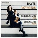 Composer: Ra Line - 【送料無料】 Ravel ラベル / ヴァイオリン・ソナタ、ツィガーヌ、ハバネラ形式の小品、他 マリヤ・ミルステイン、ナターリヤ・ミルステイン 輸入盤 【CD】