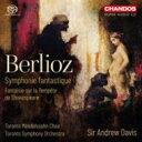 Symphony - 【送料無料】 Berlioz ベルリオーズ / 幻想交響曲、『テンペスト』に基づく幻想曲 アンドルー・デイヴィス&トロント交響楽団 輸入盤 【SACD】