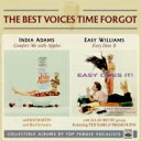 Artist Name: I - 【送料無料】 India Adams / Easy Williams / Best Voices Time Forgot 輸入盤 【CD】