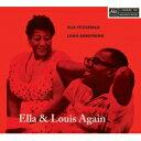 藝人名: E - Ella Fitzgerald/Louis Armstrong / Ella & Louis Again 輸入盤 【CD】