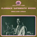 Clarence Gatemouth Brown / Sings Louis Jordan 【CD】