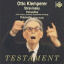 作曲家名: Sa行 - Stravinsky ストラビンスキー / Petrouchka, Pulcinella Suite: Klemperer / Npo Po 【CD】