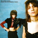 The Lemon Twigs / Songs For The General Public 【CD】