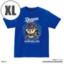 ショッピングエヴァンゲリオン EVANGELION×ドラゴンズ Tシャツ(マスコット) XLサイズ 【Goods】