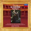 Puccini プッチーニ / 『ボエーム』抜粋 ヘルベルト・フォン・カラヤン&ベルリン・フィル、ミレッラ・フレーニ、ルチアーノ・パヴァロッティ、他(1972 ステレオ) 【SHM-CD】