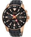 セイコー スポーチュラ キネティック GMT搭載 腕時計 SUN028P1