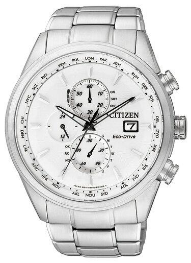シチズン CITIZEN クオーツ メンズ クロノ 腕時計 AT8015-54A ホワイト 【平日PM2時までのき注文は即日発送】【無料ラッピング可】☆幅広い選択☆