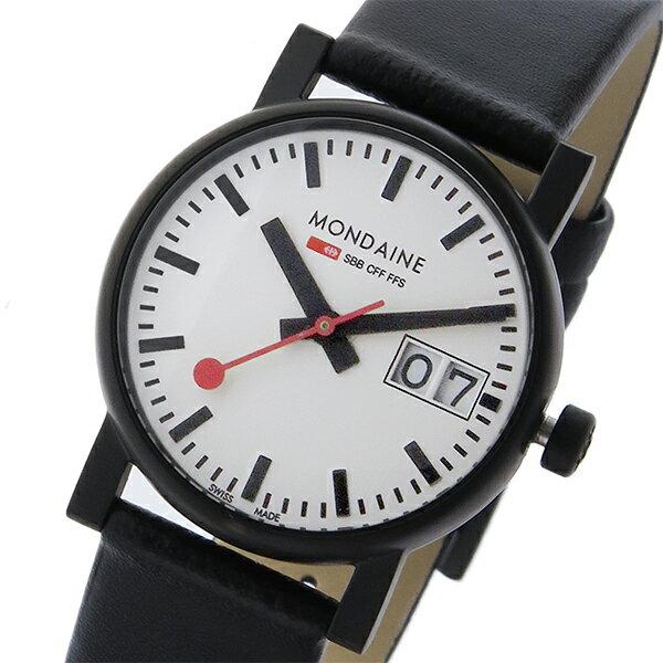 モンディーン MONDAINE クオーツ レディース 腕時計 A669.30305.61SBB ホワイト