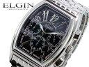 エルジン ELGIN クロノグラフ 腕時計 FK1215S-B 文字盤ブラック