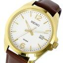 セイコー SEIKO クオーツ メンズ 腕時計 SUR216P1 ホワイト