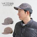 ショッピング耳あて 《Well-tailored》ウェルテーラードSHORT VISOR FLAP CAMP CAP(KKC-300)ショートバイザーキャップ 耳あて ボア メンズ レディース ブランド 千鳥格子