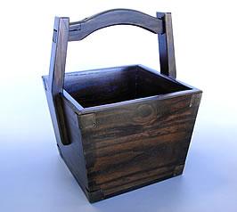 手作り 炭斗箱(すみとりばこ)の商品画像