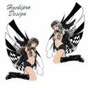 Hachipro Design ハチプロデザイン HPG-001S ブラックウイングガール Sサイズ