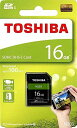 フラッシュカード SDカード UHS1 Class10 16GB TOSHIBA THN-N203N0160A4 EXCERIA N203シリーズ SDHC 16GB UHS-1 R=100MB/s 英語パッケージ 1年保証