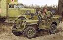 サイバーホビー 1/35 WW.II イギリス軍 SAS 4x4 小型軍用車 ヨーロッパ戦線 1944 +第2SAS連隊歩兵フィギュア4体セ...