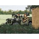 ドラゴン 1/72 WW.II イギリス軍 SAS 4x4 小型軍用車 ヨーロッパ戦線 1944(訳あり商品)【20P03Dec16】