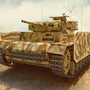 サイバーホビー 1/35 WW.II ドイツ軍 III号指揮戦車J型 w/シュルツェン(訳あり商品)