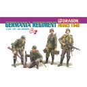 ドラゴン 1/35 WW.II ドイツ武装親衛隊 ゲルマニア連隊 フランス