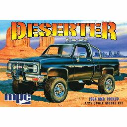 MPC 1/25 1984 GMC ピックアップトラック(成形色:ホワイト)
