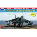 ブロンコ 1/350 米海兵隊AV-8BハリアーII 攻撃機4機入り【532P17Sep16】