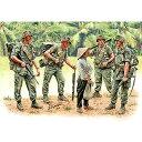 マスターボックス 1/35 米・第一空挺騎兵師団4体+民間女性1体ベトナム戦【20P01oct16】
