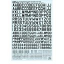 アンリミ 1/72 WWII英コードレター3(黒)
