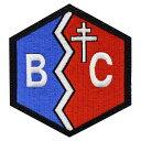 プラッツ ガールズ パンツァー最終章 BC自由学園 校章刺繍ワッペン GPW-31