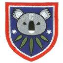 プラッツ ガールズ パンツァー最終章 コアラの森学園 校章刺繍ワッペン GPW-41
