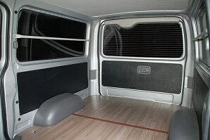 ハイエース200系DX用レザー調内装張り替えシート1