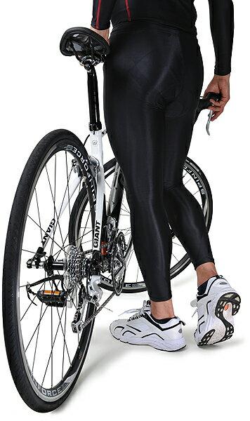 ★登山のインナー 筋肉疲労を軽減 スポーツウェア FIXFIT RIDER【品番:ACW-X05 ロング メンズM】コンプレッション 加圧インナー サポート タイツ メンズ レディース アンダーウェア 日本製 トレイル ヨガ トレーニング フィットネス ロットNo:0516B デュアルパッドを立体裁断、自然で疲れないフィット感。キネシオカットをボンディングすることでストレスを軽減。【ウォッシャブル】