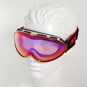 【最安値チャレンジ】★15-16NEWモデルアックスAX985-WCMREスノーボードゴーグルスキーゴーグルAXEアックススノーゴーグル2015-2016ダブルレンズメガネ対応曇り止め機能付きヘルメット対応
