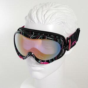 【最安値チャレンジ】★15-16NEWモデルアックスAX635-WCMBKスノーボードゴーグルスキーゴーグルAXEアックススノーゴーグル2015-2016ダブルレンズメガネ対応曇り止め機能付きヘルメット対応