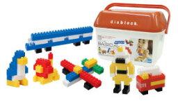 【取寄品】ダイヤブロック ベーシック250 diablock BASIC 250【カワダ・ダイヤブロック・定番おもちゃ・知育玩具・指先の訓練・つみき・リニューアル】【TC】 【0829ap_ho】【RCP】