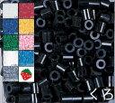 ★選べる定番10色★ アイロンビーズ パーラービーズ 単色 (1000ピース入) まとめ買い 黒 くろ しろ あか あお きいろ みどり さくらいろ とうめい みずいろ はいいろ 知育玩具 カワダ ビーズ遊び ハメイド【D】