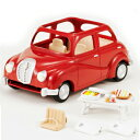 シルバニアファミリー おでかけファミリーカー V-01エポック シルバニア ドールハウス 動物 知育玩具 ままごと お人形遊び 女の子向け 着せ替え 【TC】