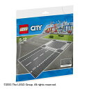 レゴ シティ 7280 ロードプレート 直線+交差点(2枚入り)【LEGO レゴ...