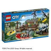 レゴ シティ 60068 沼地のアジト沼地の奥で、ドロボウたちのアジトを発見!逃げられる前にドロボウを捕まえるんだ!【LEGO レゴブロック 知育玩具 子供 男の子 女の子 指先の発達 積み木 つみき プレゼント】