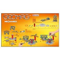 【磁石パズル知育玩具磁石のおもちゃスイス発玩具geomag【取寄品】ゲオマグ722メカニック146(GeomagMechanics)】