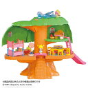 こえだちゃん ピアノの階段と大きな木のおうち(木のお家) 送料無料 ドール おままごと お人形遊び おもちゃ 女の子向け ドール遊び なつかしおもちゃ タカラトミー 【TC】 【取寄品】