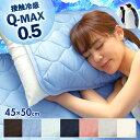 枕パッド 2枚セット QMAX0.5 接触冷感 冷感 枕パッド 65420002 65420005 枕カバー 枕パット 枕 パッド 2枚組 寝具 ベッド 布団 ひんや..
