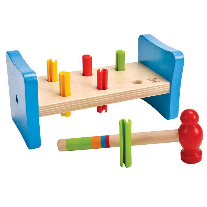 ハペ HAPE ファーストパウンダー(とんかちたたき) E0503Aおもちゃ 知育玩具 木のおもちゃ ハンマー 【TC】
