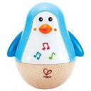 ハペ HAPE おきあがりペンギン E0331Aおもちゃ 知育玩具 木のおもちゃ 起き上がりこぼし 【TC】