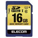 [エレコム] SDHCカード 車載用 MLC UHS-I 16GB MF-CASD016GU11A[▲][EL]