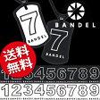 【ポイント10倍】【送料無料】 バンデル ナンバーネックレス リバーシブル/数字 ナンバーネックレス/【RCP】