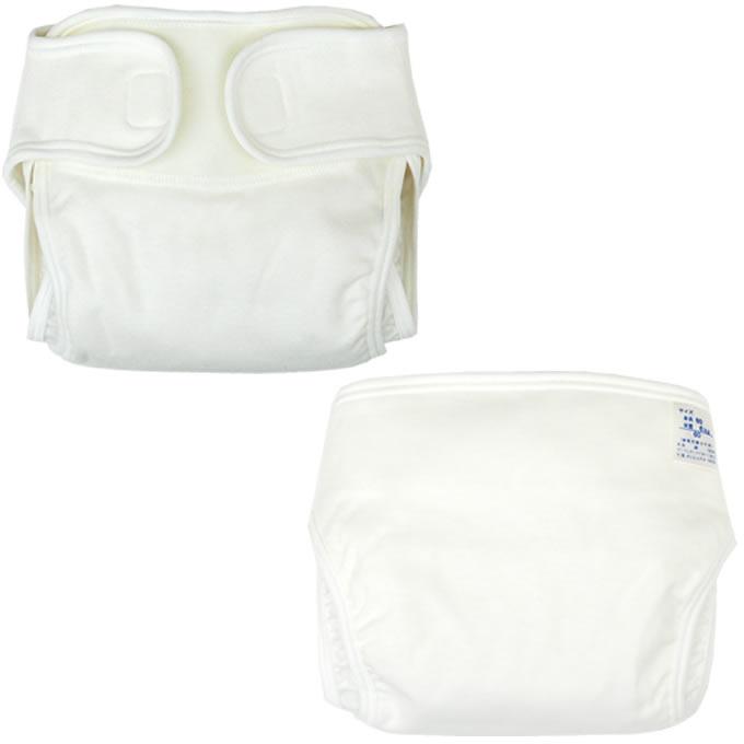 新生児用おむつカバー1枚ポリエステル3層構造(ベビー赤ちゃん新生児布おむつカバー布オムツカバー50c