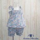 Anna Nicola(アンナニコラ) キャミソールとブルマ セット 日本製(キッズ ベビー服 子供 ブルマ 女の子 セットアップ)