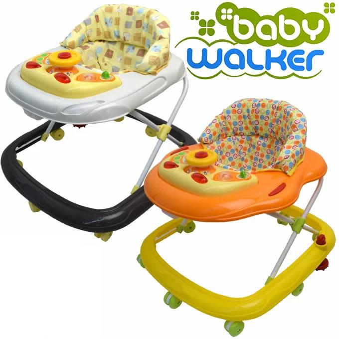 オリジナルベビーウォーカー歩行器ストッパー付き(ベビー赤ちゃんセーフティーグッズ歩行器送料無料)