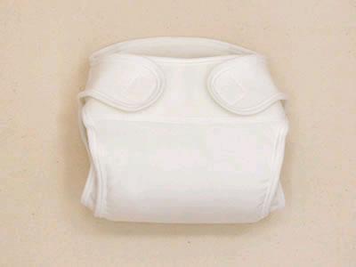 新生児用おむつカバー2枚組み無地(ベビー赤ちゃん新生児布おむつカバー布オムツカバー綿コットン日本製5