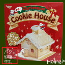 手作りお菓子キット クリスマス クッキー クッキーハウス 手作り お菓子キット プレゼント パーティに お菓子の家 クリスマス